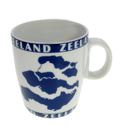 Senseo mok silhoouet Zeeland.