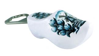 Klomp opener met Delfts Blauw print