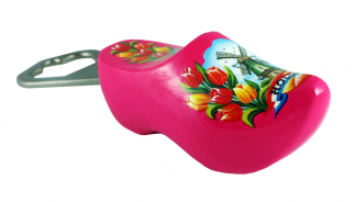 Klompopener roze met molen