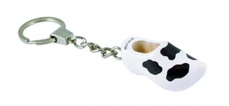 Sleutelhanger 1 klompje koeieprint.