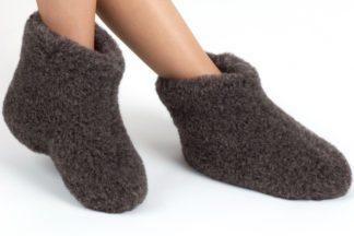 Woolwarmers. Dolly donker grijs.