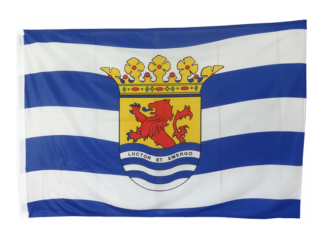 Zeeland vlag groot mast vlag