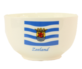 Ontbijt kom vlag van Zeeland