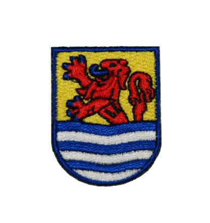 Opstrijk embleem Zeeland schildvorm