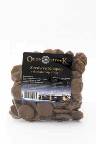 Zeeuwse knop Salmiak drop