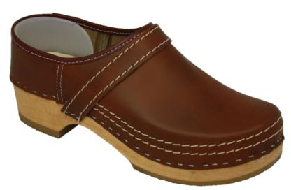 Schoenklompen antiek bruin