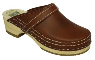 Schoenklompen bruin antiek