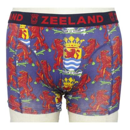 Boxer short Zeeland gekleurd