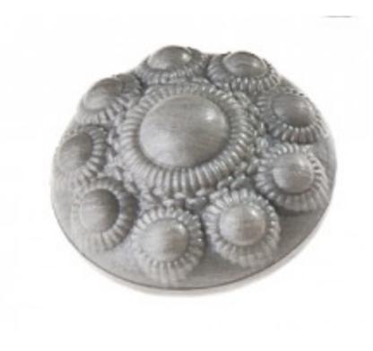 Zeeuwse knop zeep grijs