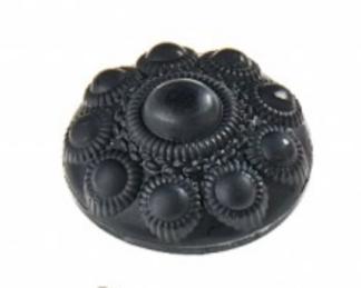 Zeeuwse knop zeepje zwart