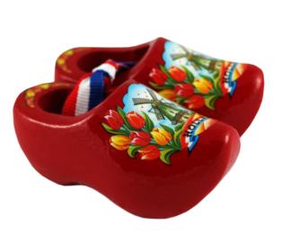 Souvenirklompjes rood 6 cm