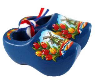 Souvenirklompjes blauw 6 cm