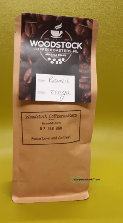 Woodstock koffiebonen Brazil