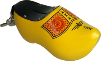Spaarpot klompje geel