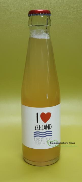Appelsap I Love Zeeland.