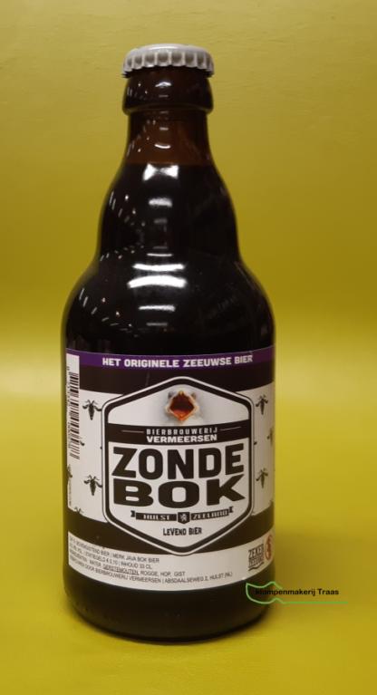 Zonde Bok bier van Vermeersen