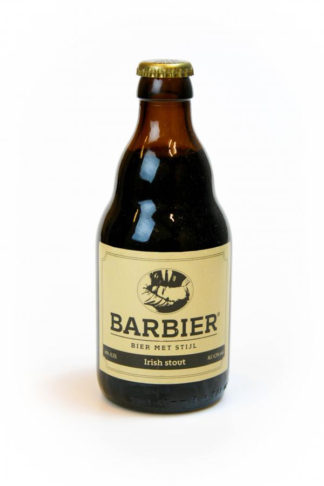 Barbier Irish stout bier