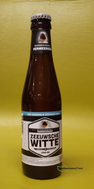 Zeeuwse witte bier Vermeersen. Wit bier van Veermeersen. een hheerlijk verfrissend biertje. Een koud wit biertje op een zomerse dag.