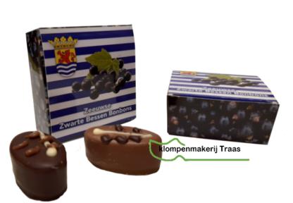 Zwarte bessen bonbons