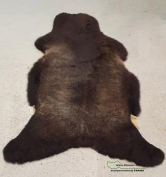 schapenvacht bruin 116 cm