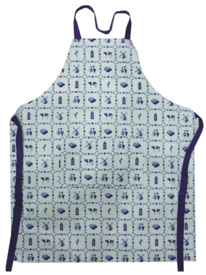 Keuken / bbq short tegels blauw