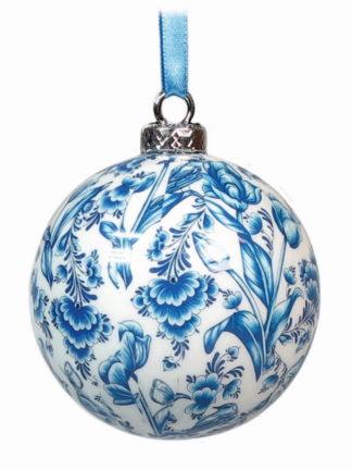 Kerstbal Blauw (plastic)
