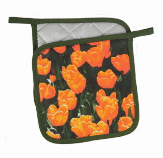Pannenlap tulp oranje 2 stuks
