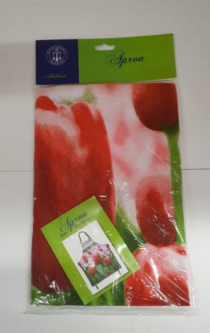 Keuken / Bbq schort tulp roze