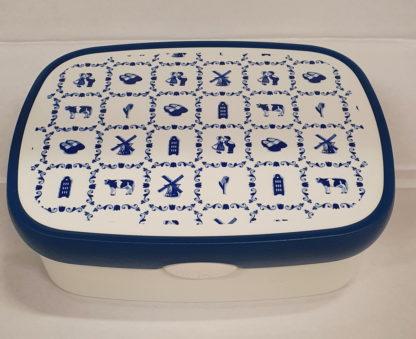 Broodtrommel Holland blauw
