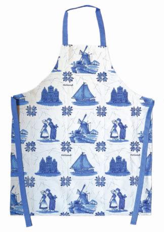 Keuken / Bbq schort Blauw