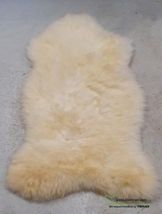witte schapenvacht 127 cm