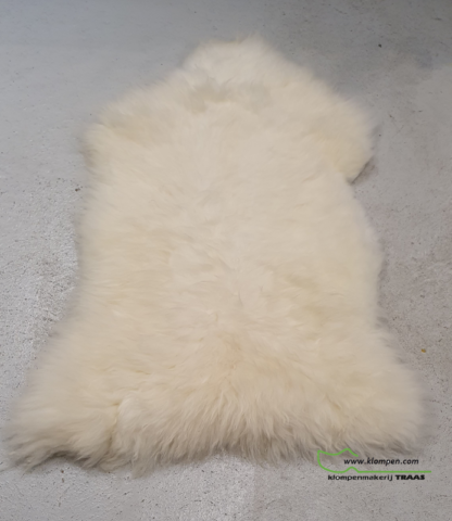 witte schapenvacht 116 cm